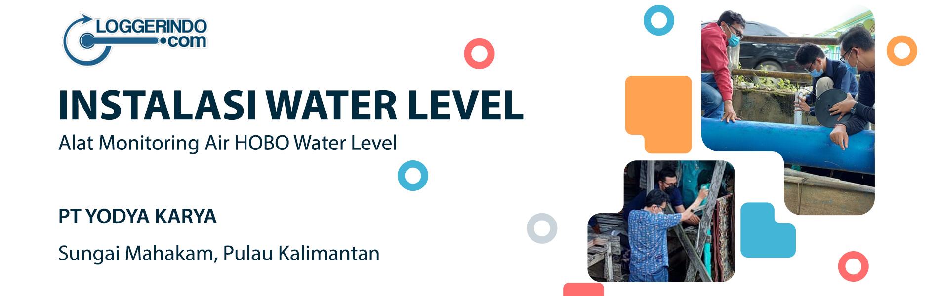 Instalasi Water Level Sungai Mahakam