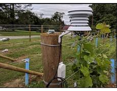 Pemantauan Cuaca Di Perkebunan Anggur Dengan Data Logger