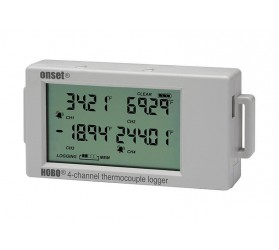 4-Channel Thermocouple Data Logger - HOBO - UX120-014M